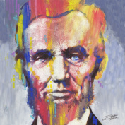 Stephen Fishwick 'Abe' Gallery-wrapped Canvas Print