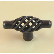 Stone Mill Berkshire Oil-rubbed Bronze Birdcage Cabinet Knobs
