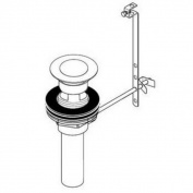 Hansgrohe Pop-up Chrome Complete Assembly
