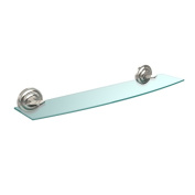 Allied Brass Que New Collection 60cm Glass Shelf