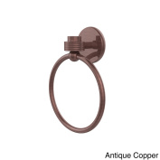 Satellite Orbit One Collection Towel Ring with Groovy Accent