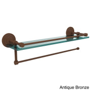 Prestige Que New Collection Paper Towel Holder with 60cm Gallery Glass Shelf