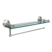 Prestige Monte Carlo Collection Paper Towel Holder with 41cm Gallery Glass Shelf