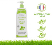 Alphanova Bebe-Organic 3 In 1 Baby Bubble Wash