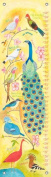 Oopsy Daisy Birds of a Feather Donna Ingemanson Growth Charts, Yellow, 30cm x 110cm