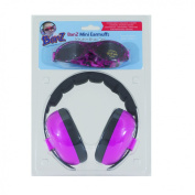 Baby Banz Earmuffs and Infant Hearing Protection and Sunglasses Combo 0-2 Years, Magenta
