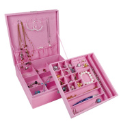 Ikee Design Two Level Jewellery Travelling Case