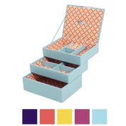 WOLF Stackables Mini 3-piece Jewellery Tray Set
