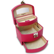 Morelle & Co Laura Expandable Leather Jewellery Box