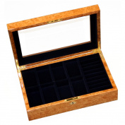 Wooden Watch/ Ring Collection Box