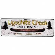 Rivers Edge Products 27cm x 8.9cm Tin Sign Up Schitz Creek
