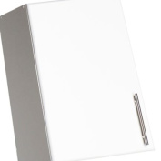 White 41cm Elite Stackable Wall Cabinet