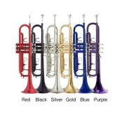 Bb Student Coloured Trumpet and Giardinelli Care Kit