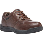 Men's Propet Four Points II Oxford Brown Full Grain Leather