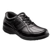 Men's Nunn Bush Seth Sport Lace-Up Black Leather