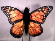 Large Monarch Butterfly Puppet with Ten Inch Wingspan