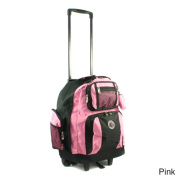 Roll-Away 46cm Deluxe Rolling Unisex Polyester Carry-on Backpack