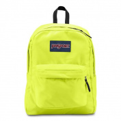 JanSport Lorac Yellow Super Break School Backpack