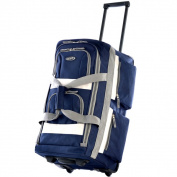 Olympia SRD 60cm 8-pocket Carry On Rolling Upright Duffel Bag