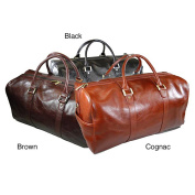 Castello Torino Series 48cm Carry On Leather Duffel Bag