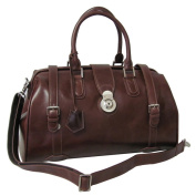 Amerileather Langam 43cm Carry On Leather Duffel Bag