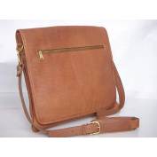 Aston Slim Leather Professional Weather-resistant Messenger Bag