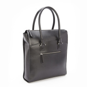 Royce Leather RFID Blocking Saffiano Leather Travel 38cm Laptop Tote Bag