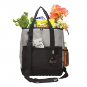 Goodhope Beach Shopping Cooler Tote with Moulded Bottom
