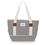 Sloane Ranger Denim Stripe Canvas Tote