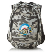 Obersee Kids Pre-School All-In-One Camo Aeroplane Backpack with Cooler