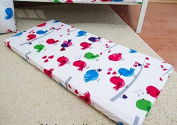 /1126/ LHE Baby crib cradle bassinet fitted sheet size 90x40 100% cotton