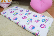 /1125/ LHE Baby crib cradle bassinet fitted sheet size 90x40 100% cotton