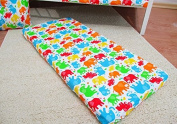 /1129/ LHE Baby crib cradle bassinet fitted sheet size 90x40 100% cotton