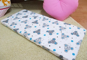 /1121/ LHE Baby crib cradle bassinet fitted sheet size 90x40 100% cotton