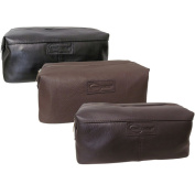 Amerileather Madison Leather Toiletry Bag