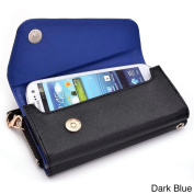 Kroo Clutch Wallet with Wristlet and Crossbody Strap for 13cm Smartphone