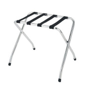 Chrome 70cm Luggage Rack