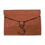 Royce Leather Hanging Toiletry Travel Wash Bag
