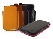 Kroo iPhone 5 Napa Leather Carrying Case