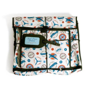 Scent-Sation First Class 'Vintage Aviation' Travel Cosmetic Bag
