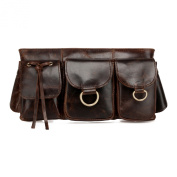 Adonis Genuine Leather Waist Bag Fanny Pack