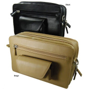Castello Romano Men's Leather Toiletry Bag