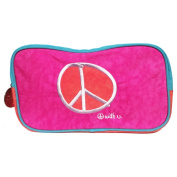 Biglove Peace Small Rectangular Cosmetic Travel Bag