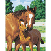 Paint Works Paint By Number Kit 11inX14inMother's Pride
