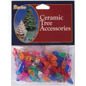 Ceramic Christmas Small Flame Tree Bulbs
