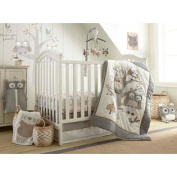 Night Owl 5 Piece Crib Bedding Set