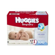 Huggies Snug & Dry Nappies, Size 1, 100 Count