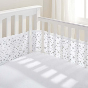 BreathableBaby Four Sided Liner Cot Mesh
