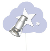 Waldi Children's Ceiling Light Cloud Starlight Light Fitting