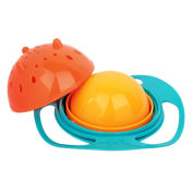 Baby Children Food Feeding 360 Rotating Spill-Proof Gyro Bowl Dishes